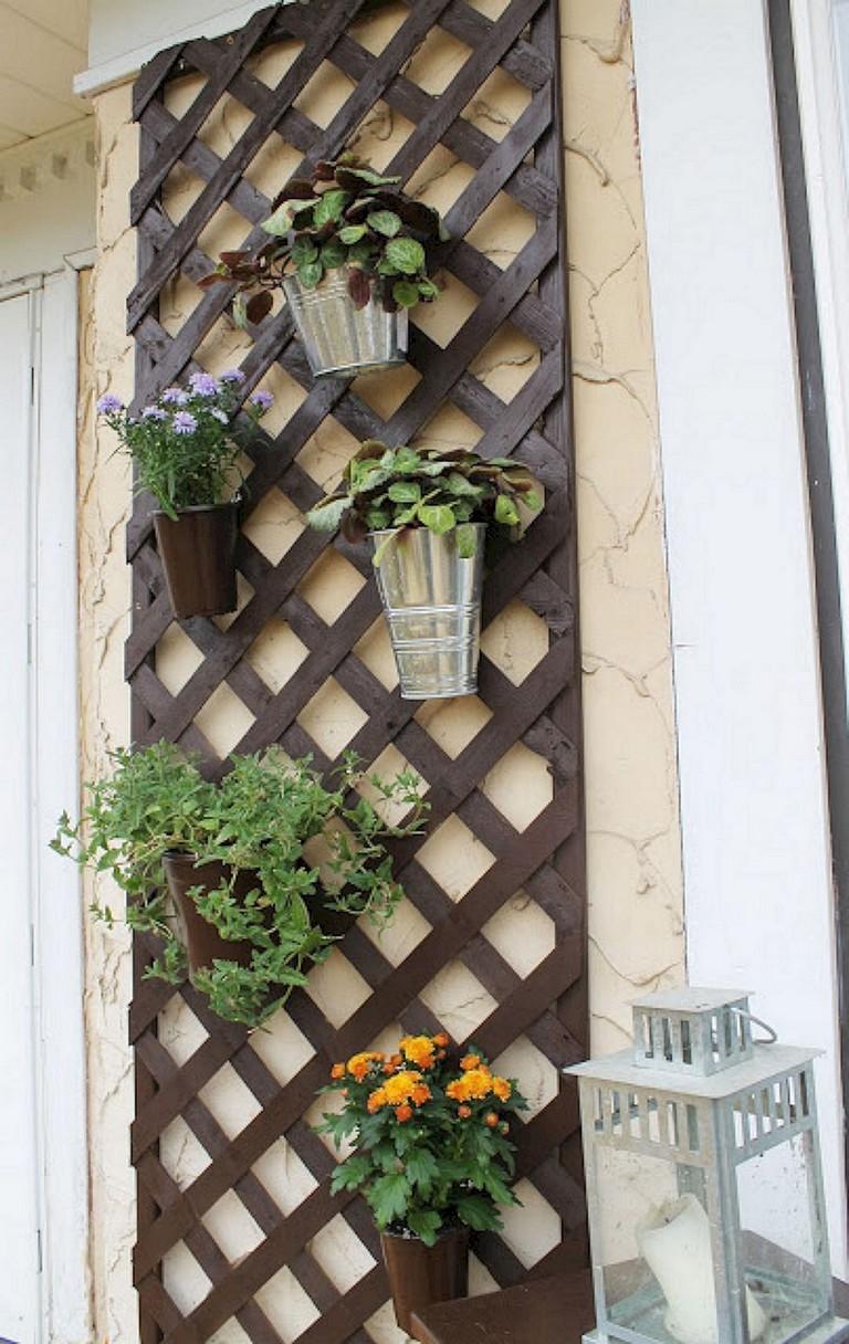 30+ Remarkable DIY Wall Gardens Outdoor Design Ideas ...