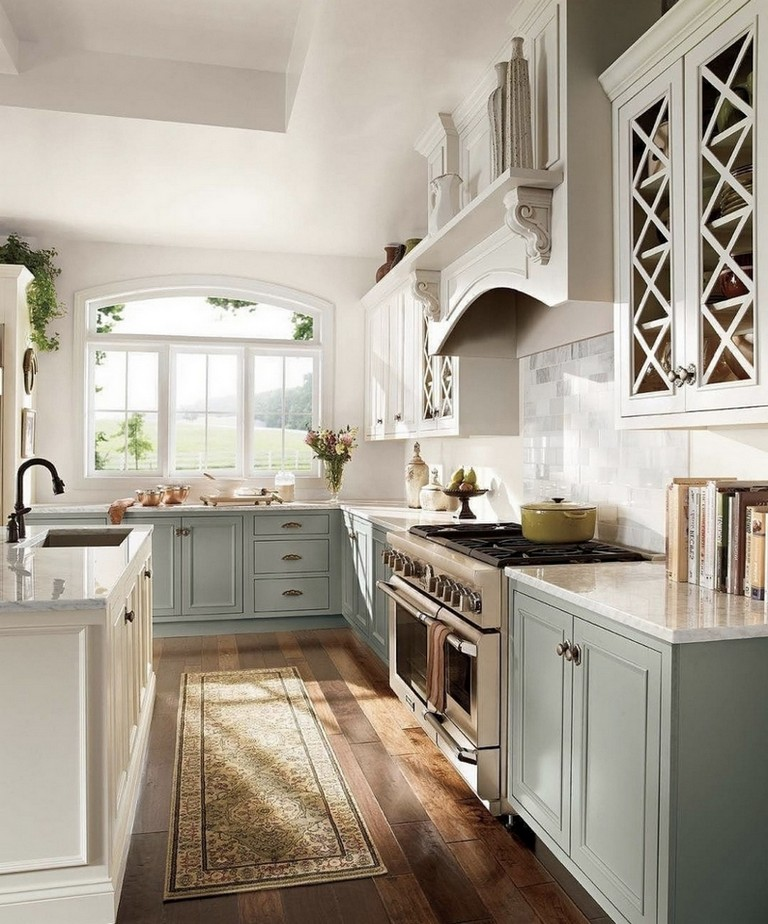 45+ wonderful french country kitchens design ideas