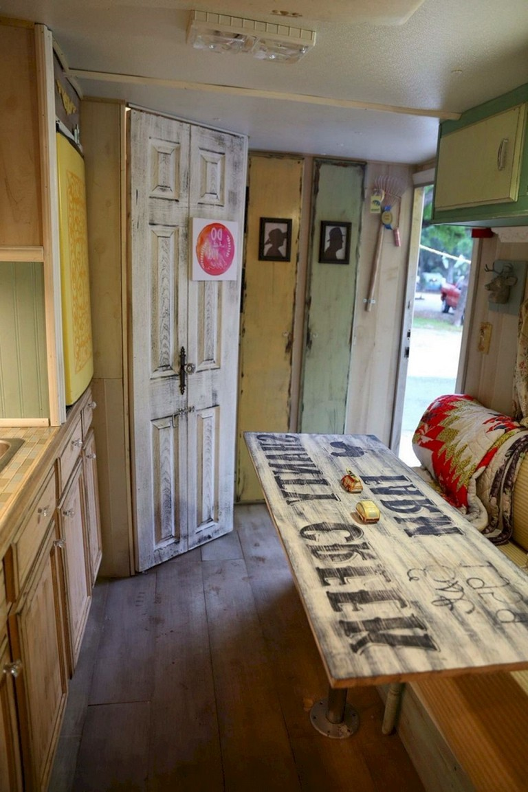 15 Good Diy Camper Interior Remodel Ideas You Can Try Right Now