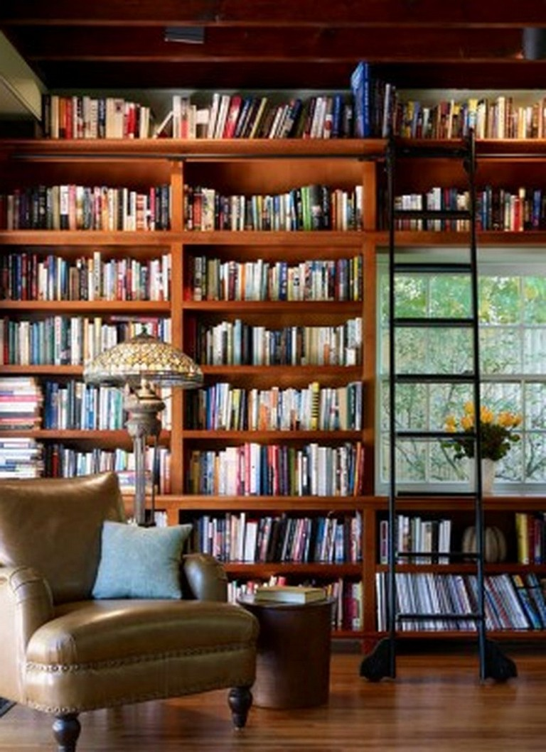 Amazing Home Libraries: 45+ Creative & Inspire Home Library Design And Decorations