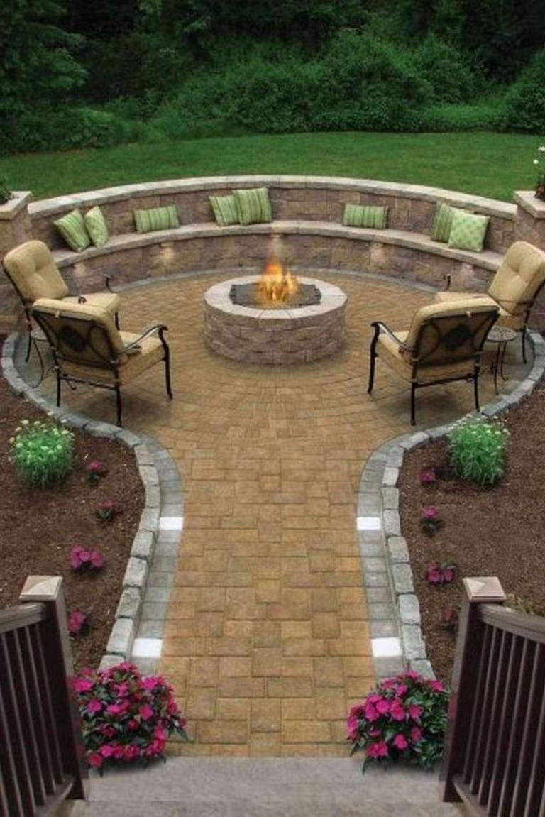 45 Amazing Backyard Patio Deck Design Ideas